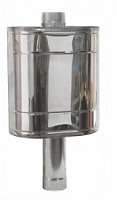 Water tank on stovepipe 50l (G3/4) 115, AISI 439/0.8mm